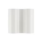 義大利 Foscarini Double Wall Lamp 雙重系列 玻璃 波浪造型 壁燈(雪白色款)