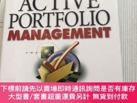 二手書博民逛書店Active罕見Portfolio Management:A Quantitative Approach for