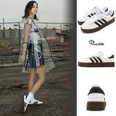adidas 休閒鞋 Sambarose W 白 黑 焦糖 鬆糕鞋 厚底增高鞋 女鞋【PUMP306】 AQ1134