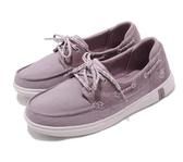 SKECHERS系列-女款 GLIDE ULTRA-PLAYA 紫色 休閒帆船鞋-NO.16110LTMV