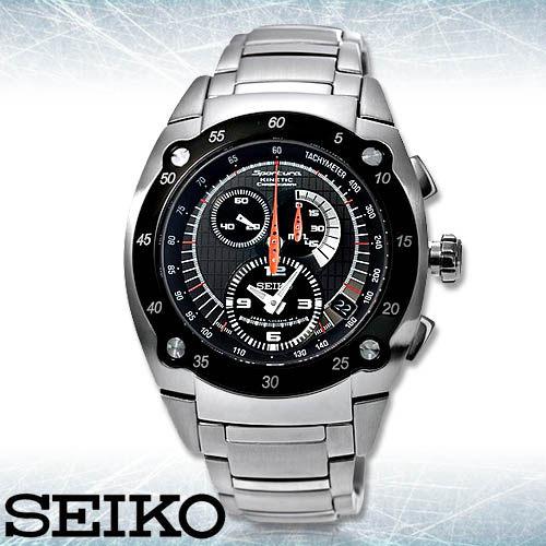SEIKO 精工手錶專賣店 SNL043J1公司貨 男錶 人動電能機芯 不鏽鋼錶帶 日製 藍寶石水晶玻璃 防水100米