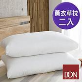【DON】薰衣草舒眠透氣枕(買一送一超值組)