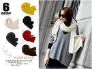秋冬超長素色仿羊絨超柔軟圍巾超大超長 品質佳 保暖度佳 6色