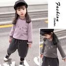 女寶寶加絨打底衫冬女童小童洋氣嬰幼兒童保暖上衣秋裝外穿
