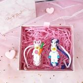 抖音款巴斯光年兔子編織手繩樂高積木情侶可調節手環可愛禮物Mandyc