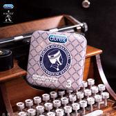 情趣用品-保險套商品買送潤滑液♥Durex杜蕾斯xPorter更薄型鐵盒限定版3入衛生套 情趣用品