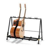 【敦煌樂器】HERCULES GS525B 五支吉他側放架