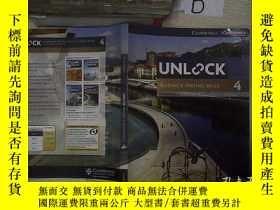 二手書博民逛書店Unlock罕見Reading & Writing Skills 4 開啟讀寫技能4,,Y261116