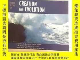 二手書博民逛書店Three罕見Views on Creation and Evo