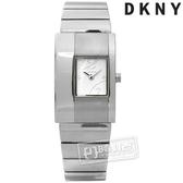 6折↘DKNY / NY4204 / 紐約時尚極簡都會不鏽鋼手錶 銀白色 22mm