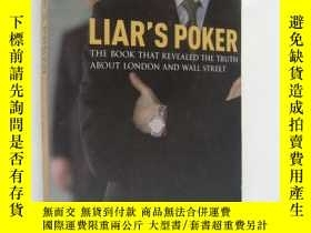 二手書博民逛書店Liar罕見s Poker:The book that reve