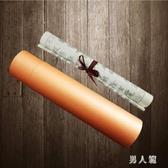 裝經筒毛筆抄經描紅書法字帖包裝紙筒畫筒照片書40cm yu2543『男人範』