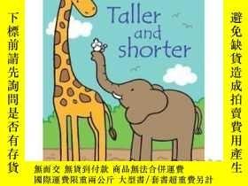 二手書博民逛書店That's罕見Not My Taller and Shorter-那不是我的高個子和矮個子Y465