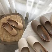 女鞋豆豆鞋平底鞋媽媽鞋休閒鞋