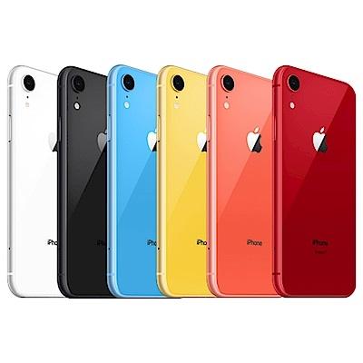 Apple iPhone XR 手機128G,送 空壓殼+玻璃保護貼,24期0利率 6.1吋螢幕