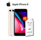 Apple iPhone 8  256G  4.7吋旗艦智慧手機 24期零利率  贈imos玻保 -金/灰/銀