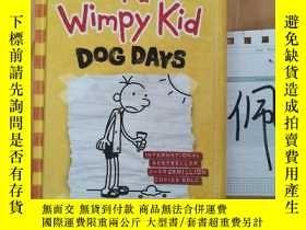 二手書博民逛書店Diary罕見of a wimpy kid dog daysY15335
