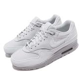 【六折特賣】Nike 休閒鞋 Wmns Air Max 1 LX 灰 白 女鞋 反光 復古慢跑鞋 運動鞋 【ACS】 917691-002