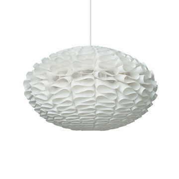 丹麥 Normann Copenhagen Norm 03 白色雕塑系列 花團 吊燈(大尺寸)