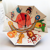 兒童雨傘女小學生全自動折疊超輕便卡通太陽傘防曬防紫外線女神