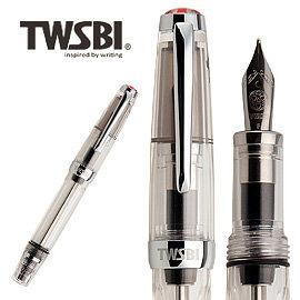 臺灣 TWSBI 三文堂 VAC mini 透明筆桿負壓上墨鋼筆 /支