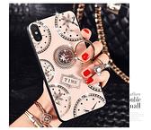 iPhone X XS XR 手機殼 時尚 全包軟邊 掛繩 支架 指環防摔 保護殼 保護套 手機套 創意指環