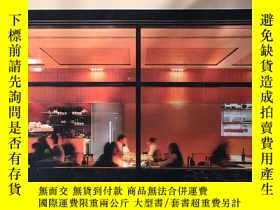 二手書博民逛書店new罕見restaurant design(新飯店)Y1997