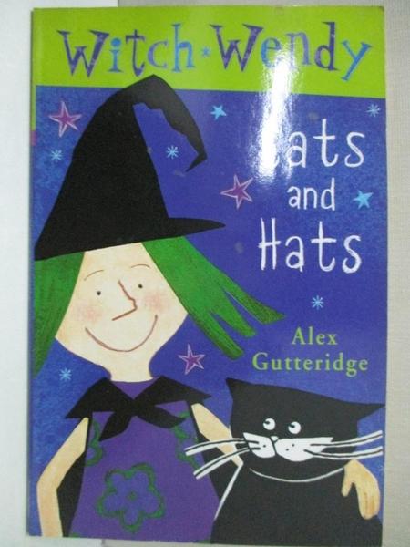 【書寶二手書T5/兒童文學_GE8】Witch Wendy: Cats and Hats Bk.1_Alex Gutteridge