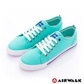 美國AIRWALK- U.S.A.夏日彩漾綁帶帆布鞋(女)  綠 390元起