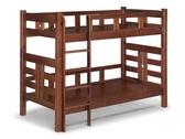 【新北大】S416-2 凱莉松木3尺雙層床(樓梯固定)-2019購