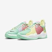 Nike 籃球鞋 PG 5 EP Paul George 綠 黃 粉紅 男鞋 運動鞋 【ACS】 CW3146-301