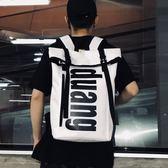 書包男大容量時尚潮流學院風校園個性高中學生街頭韓版雙肩背包女 可可鞋櫃