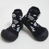 韓國 Attipas 快樂腳襪型學步鞋-萬聖進行曲