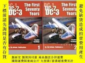 二手書博民逛書店DC-1,罕見DC-2, DC-3 The First Seventy Years part 1 and part