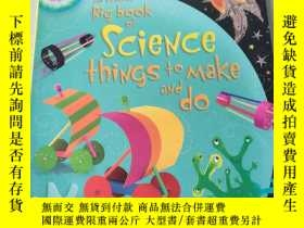 二手書博民逛書店Big罕見book of science things to make and do:科學的大書要做和做的事情