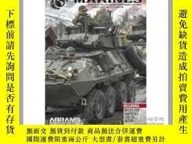 二手書博民逛書店MARINES,罕見Vehicles of the 24th Marine Expeditionary Unit