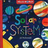 【幼兒科學認知書】HELLO,WORLD! SOLAR SYSTEM  /硬頁 《主題:太空 》