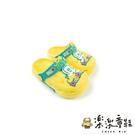 【樂樂童鞋】巴布豆卡通圖案布希鞋-黃色 C063 - 現貨 男童鞋 女童鞋 涼鞋 兒童涼鞋 小童鞋