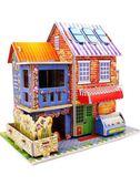 【買一送三】3d立體拼圖兒童益智玩具DIY【聚寶屋】