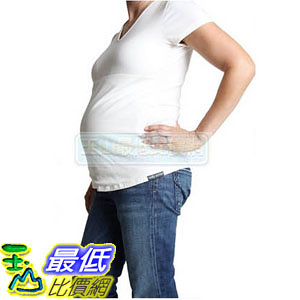 [美國直購] Protective Belly Tee in Cream By Belly Armor防電磁波T恤 白色款