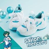 Skechers 休閒鞋 D Lites AIRY 2.0 X Sailor Moon 白 藍 女鞋 美少女戰士 運動鞋 老爹鞋 【ACS】 66666267WLB