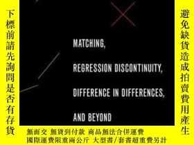 二手書博民逛書店Matching,罕見Regression Discontinuity, Difference In Differ