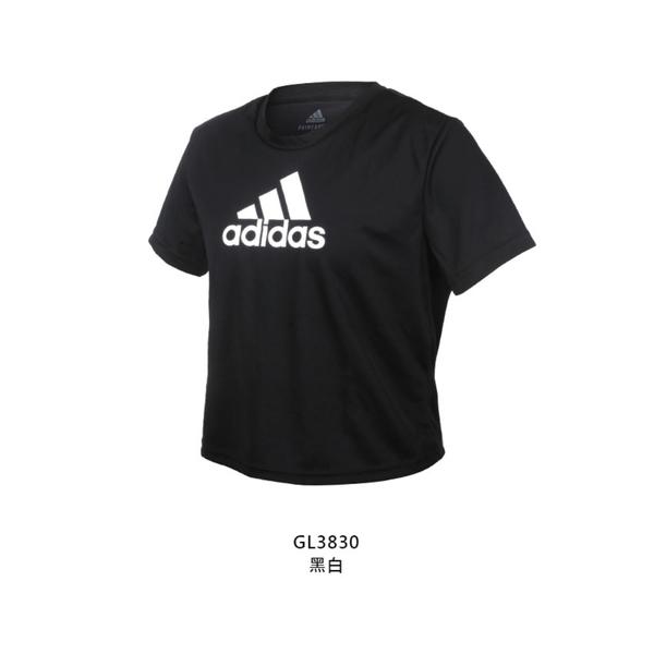 ADIDAS 女短袖T恤(亞規 吸濕排汗 慢跑 路跑 運動 上衣 愛迪達  ≡排汗專家≡