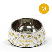 Gudetama 正版授權 蛋黃哥 寵物碗 繽紛寵物碗 白底蛋黃哥 (M) 《SV8874》HappyLife