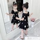 女童連身裙夏季新款波點韓版洋氣時尚公主裙子兒童仙女裙子潮 韓慕精品