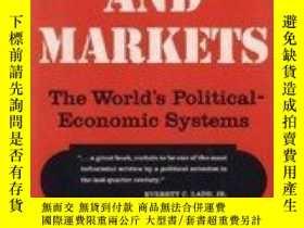 二手書博民逛書店Politics罕見And MarketsY256260 Charles Edward Lindblom Ba
