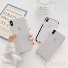 溫柔純色邊框 透明殼 清透 防摔殼 iPhone 12 11 Pro Max XR Xs 7/8 SE2 蘋果 手機殼