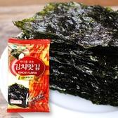 韓國 韓宇 在來泡菜海苔 單包 4.5g【櫻桃飾品】【28388】