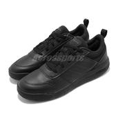 adidas 慢跑鞋 Tensaurus K 黑 全黑 女鞋 大童鞋 基本款 運動鞋【ACS】 EF1086