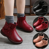 兒童靴子 女童靴子單靴2021新款春季兒童馬丁靴小女孩英倫風公主短靴【快速出貨八折搶購】